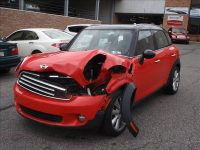 Broken red MINI