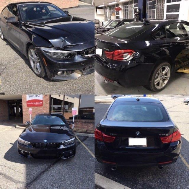 Black BMW repair